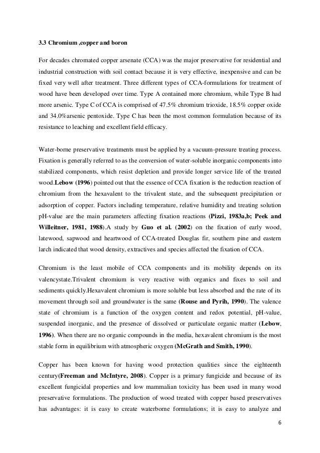 Chromium dissertation