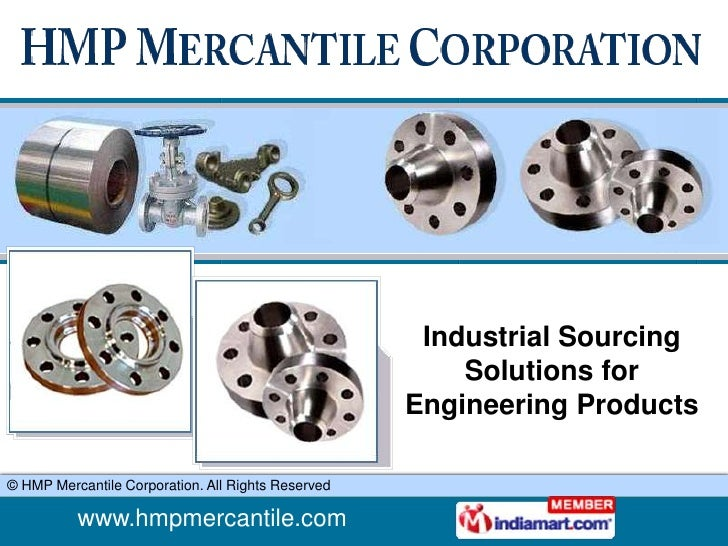 Plate Flanges HMP Mercantile Corporation New Delhi
