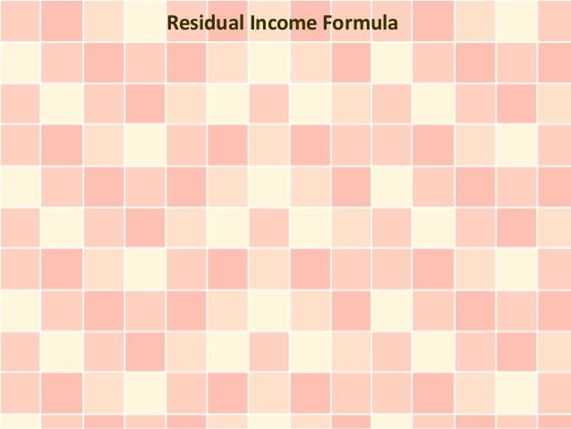 """Residual Income Formula: How I Create Passive Income Online From This Computer \""""Income Game\"""""""