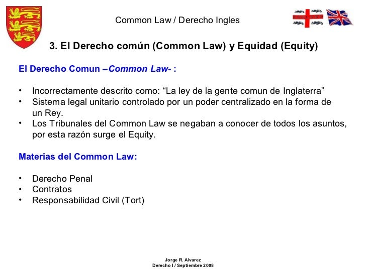 Common law y equity