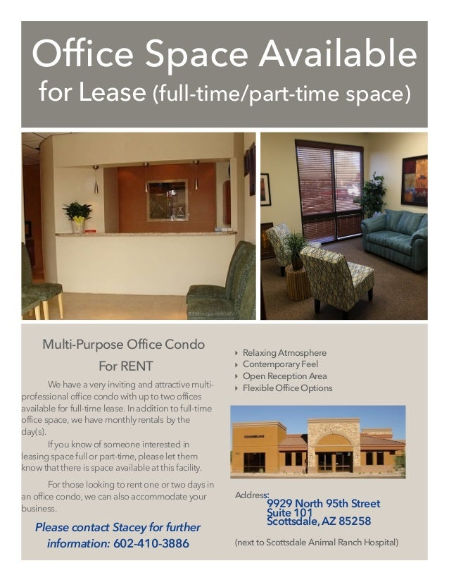 Office Spaace Flyer Staples