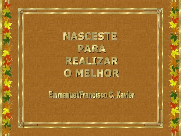 BN-Emmanuel-Nasceste para realizar o melhor