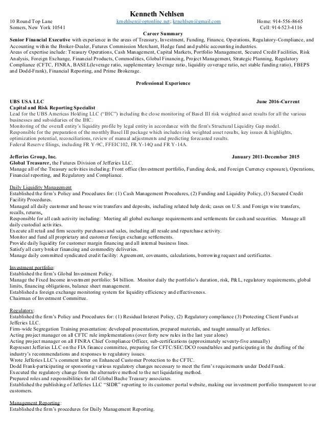 kenneth nehlsen resume now