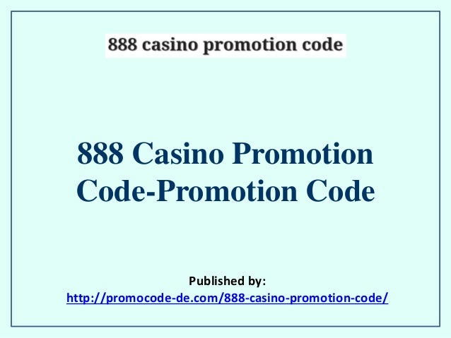 888 promotion code
