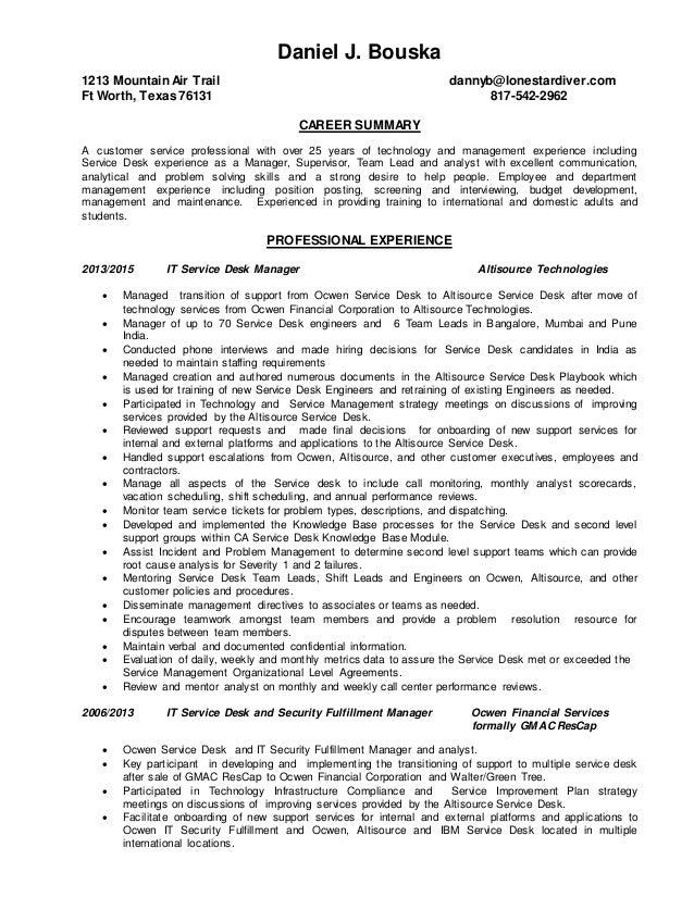 daniel bouska resume