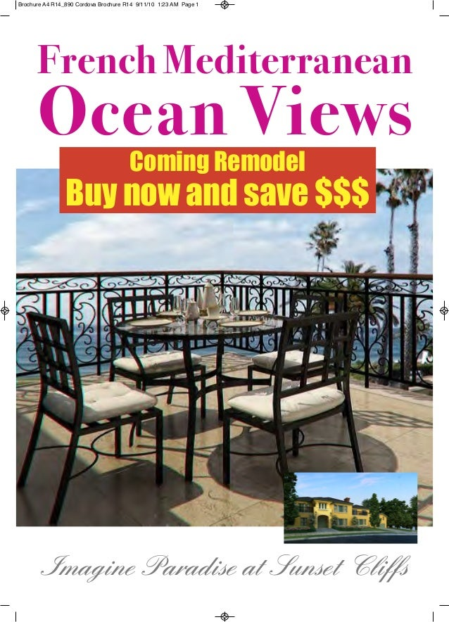 Imagine Paradise at Sunset Cliffs French Mediterranean Ocean Views ComingRemodel Buynowandsave$$$ Brochure A4 R14_890...