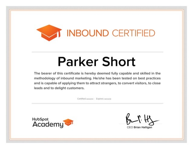 Hubspot Inbound Certification Test Answers