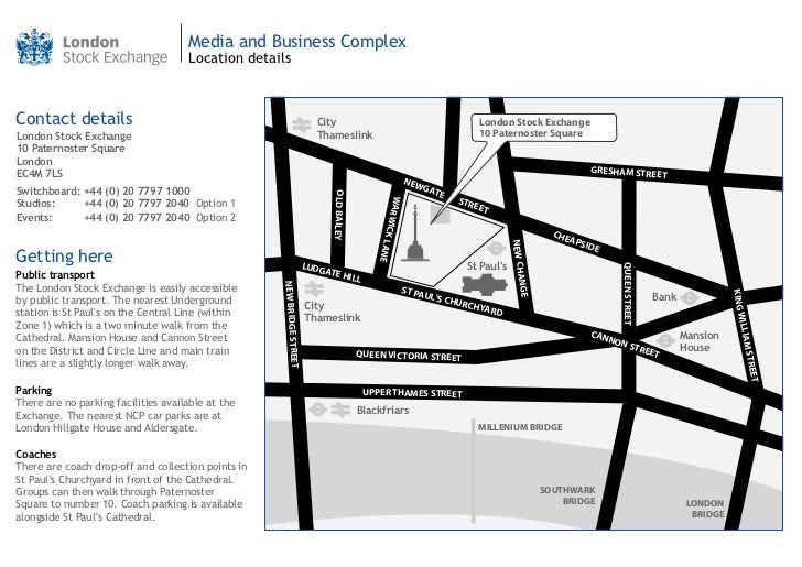 London Stock Exchange_map
