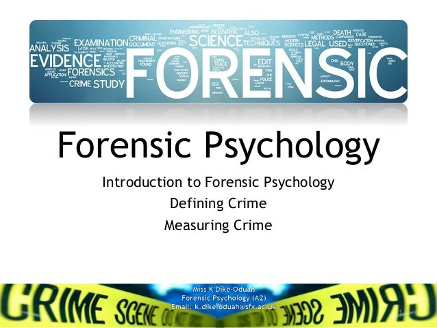 defining and measuring crime View notes - chapter 3 defining and measuring crime from cjc 121 at south carolina upstate chapter 3: defining and measuring crime criminal law: to protect by prevention and prosecution civil law.