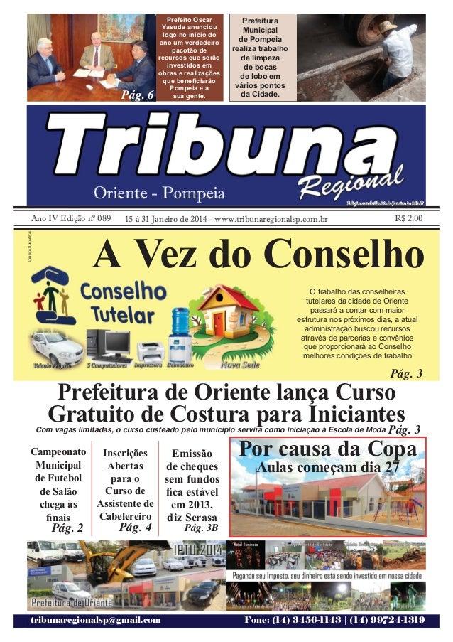 Jornal Tribuna Regional Ed. 89