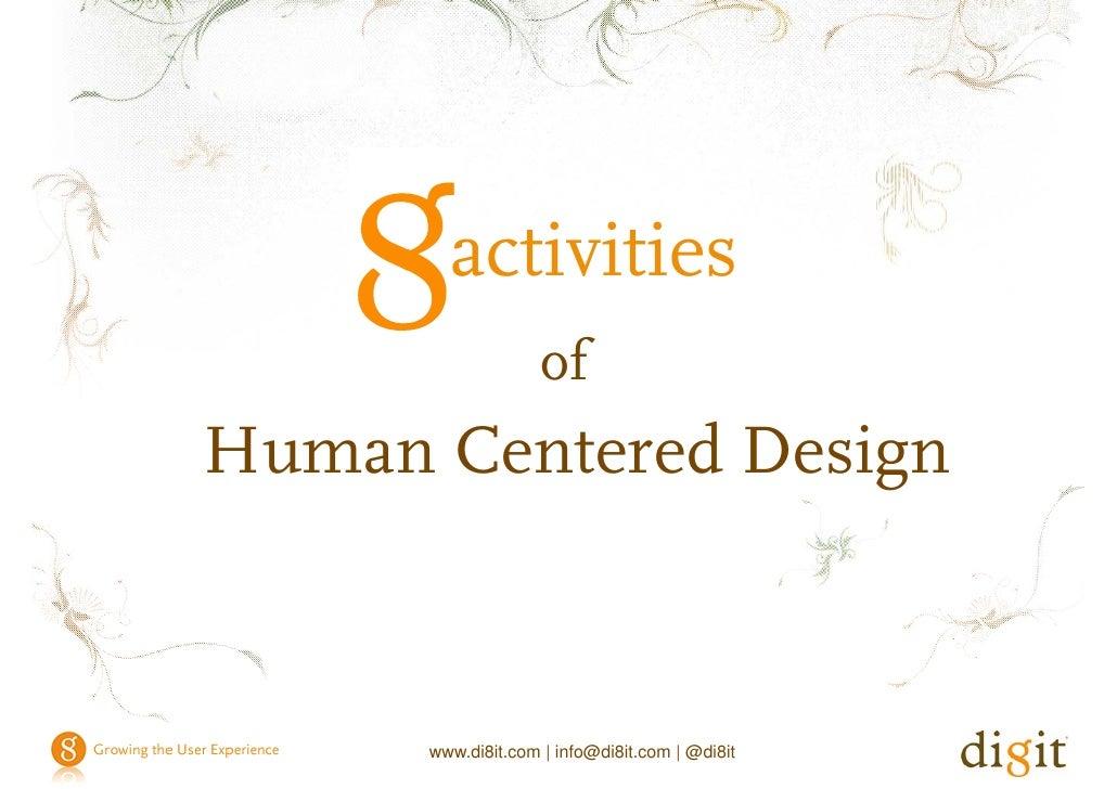 activities of Human Centered Design                                             activities                                ...