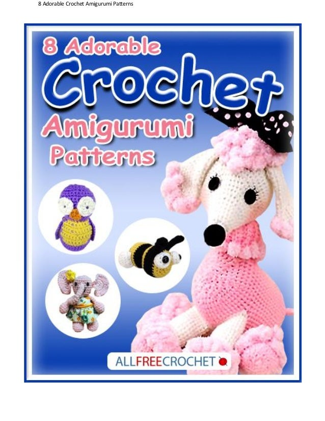 Free Crochet Books By Mail : Adorable Crochet Amigurumi Patterns