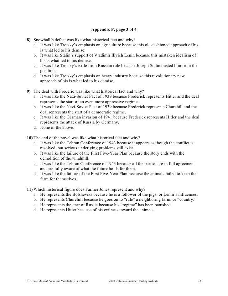 Term paper on animal farm outline help.?