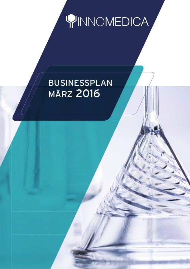 BUSINESSPLAN MÄRZ 2016