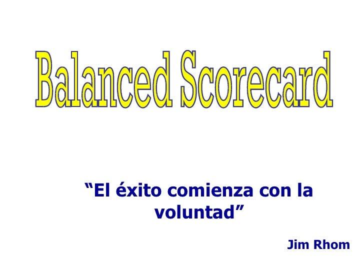Balanced Scorecard Ppt2010