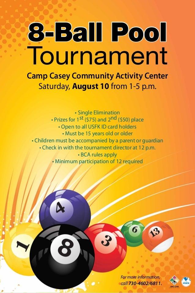 8 Ball Pool Tournament