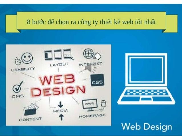 8 bước để chọn cty thiết kế web tốt nhất