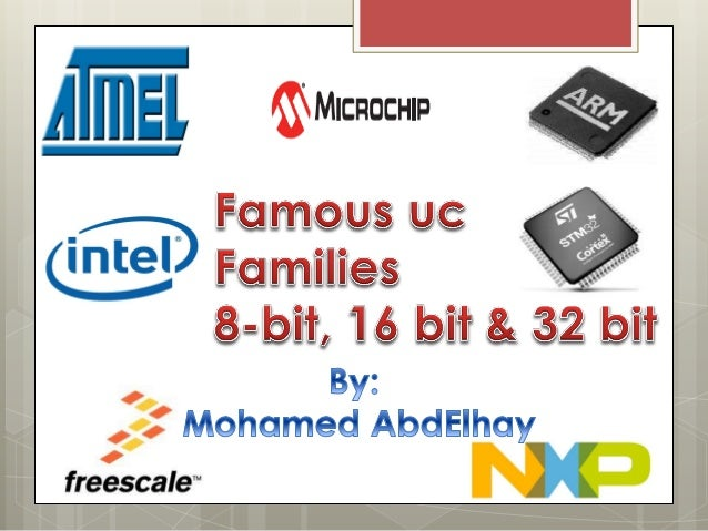 8 bit microcontroller