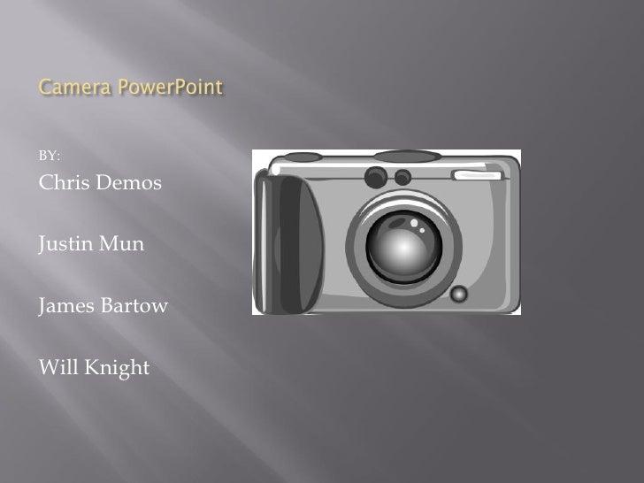 8 b team 8 camera powerpoint