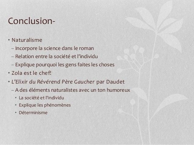Naturalisme et Daudet
