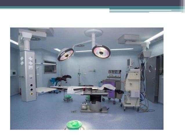 8 caracteristicas fisicas de la sala de operaciones for Cuarto quirurgico