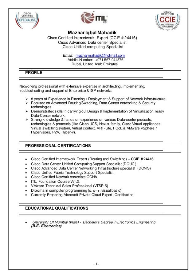 Resume help for construction workers