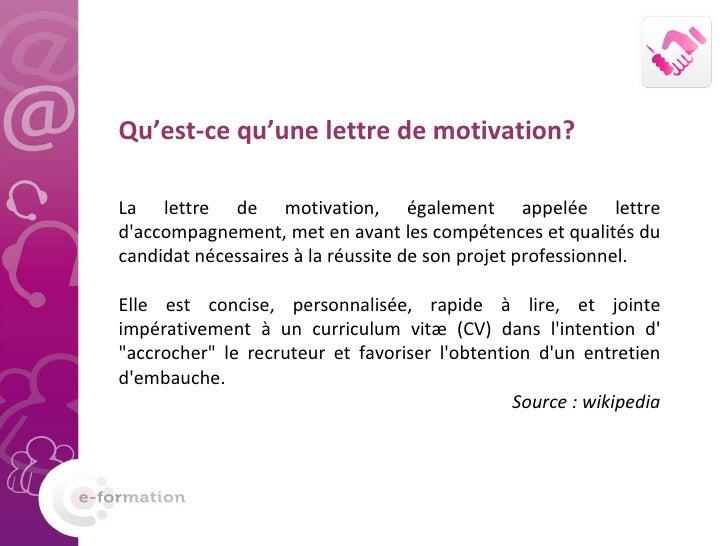 8 conseils pour une lettre de motivation