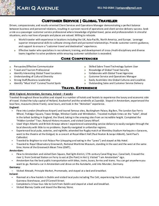 kari avenue resume customer service pdf