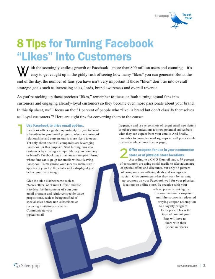 Oito dicas para transformar likers em clientes