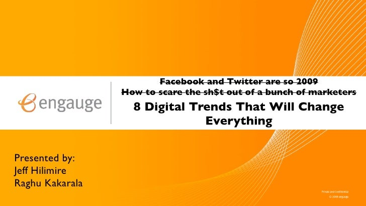 8 Digital Trends That Will Change Everything