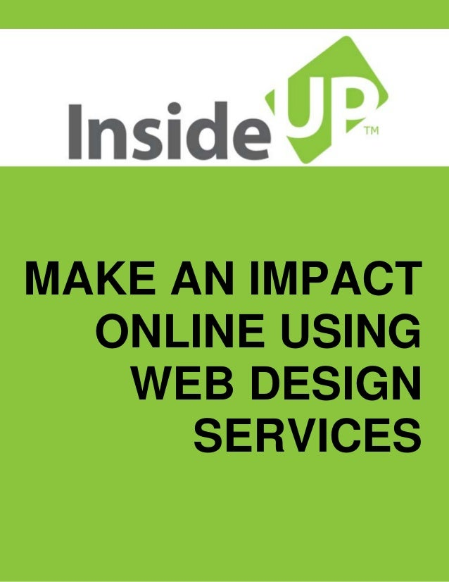 Make an impact online using web design services for Architect services online