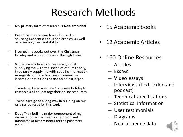 Writing the Research Proposal - Saint Mary s University of Minnesota