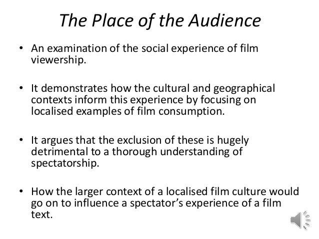 Cultural Studies Dissertation Proposal