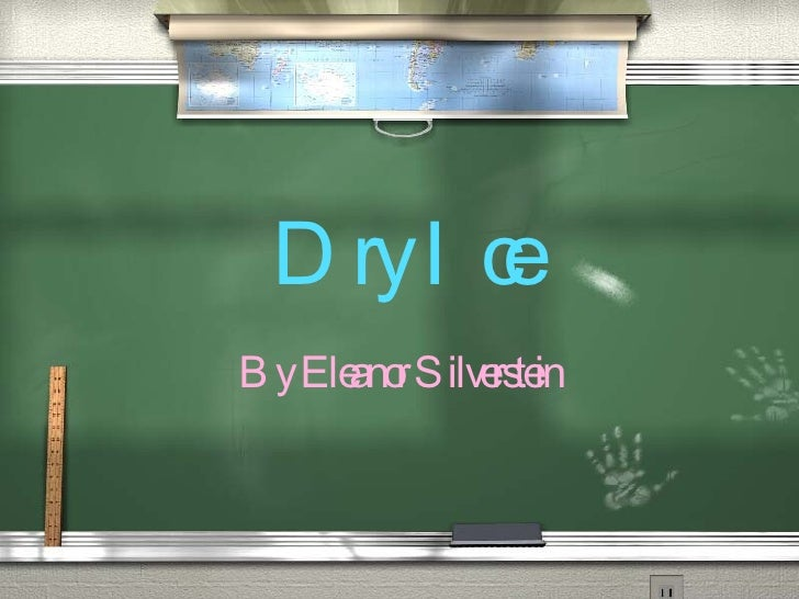 Dry Ice By Eleanor Silverstein