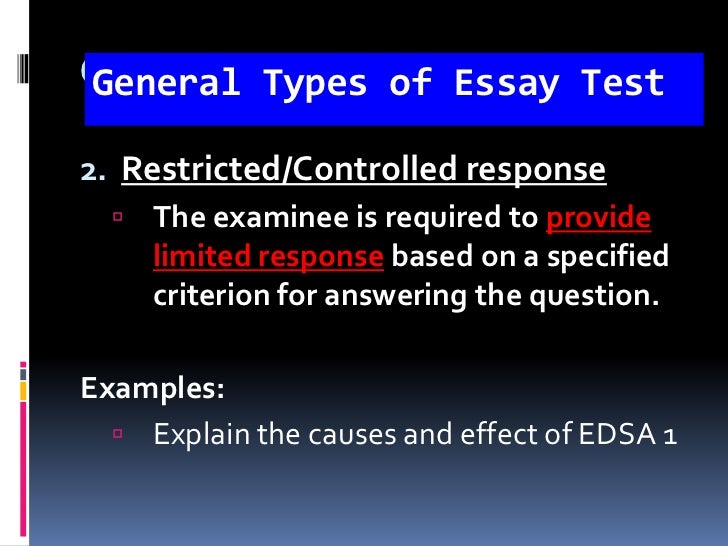 explain different types of essays Explaining of the purpose of using different types of presentation and equipment other different types of of using different types of presentation and.