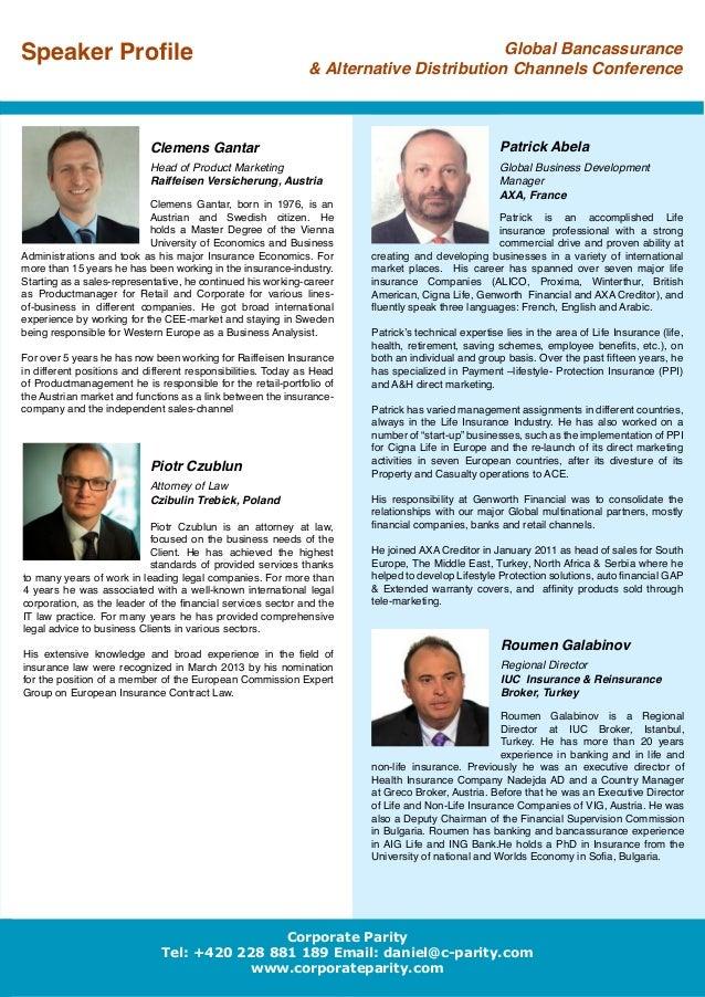 "emergence of bancassurance as distribution channel Reportswebcom added ""global bancassurance technology  bancassurance refers to a distribution channel for  the emergence of several it technologies."