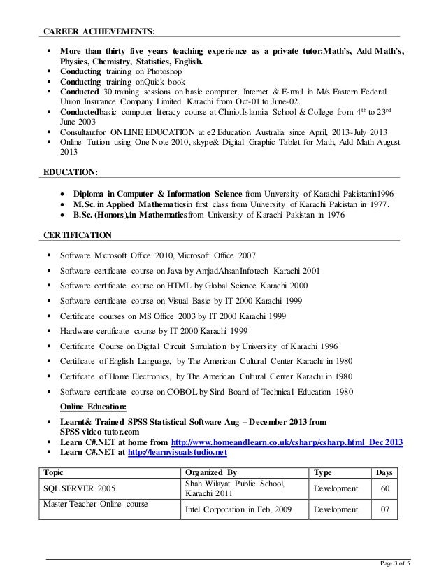 how to make a resume for a tutoring job free notebook paper graphic - Private Tutor Resume