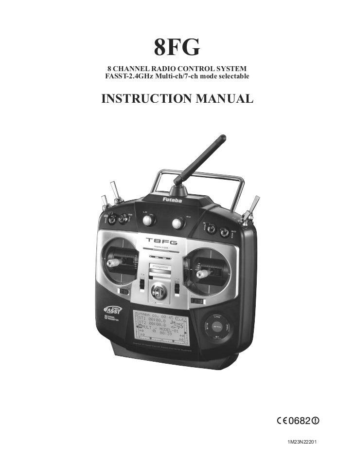 8fg 2 4ghz-manual