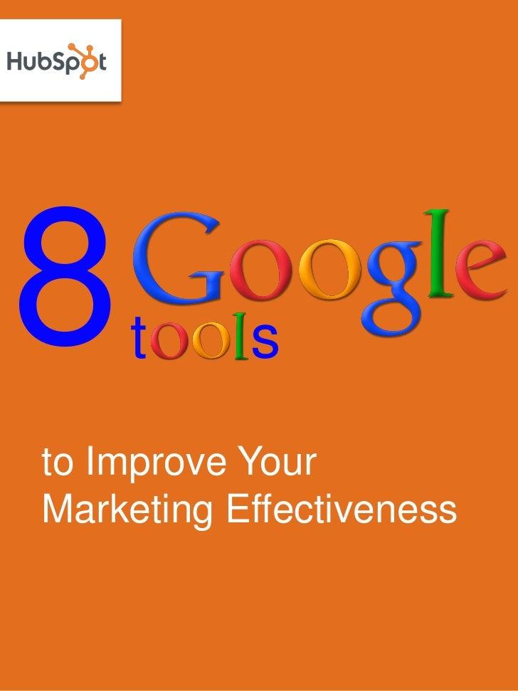 8 google tools