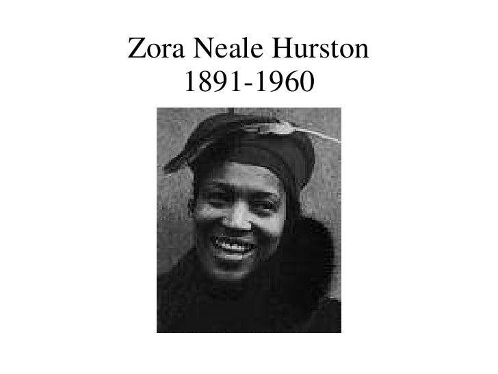 Zora Neale Hurston 1891-1960