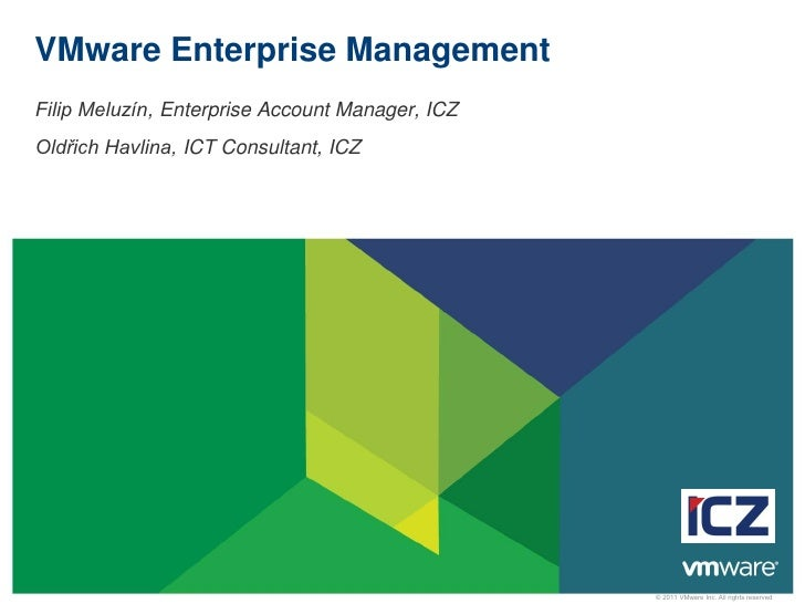 VMware Enterprise Manager s ICZ