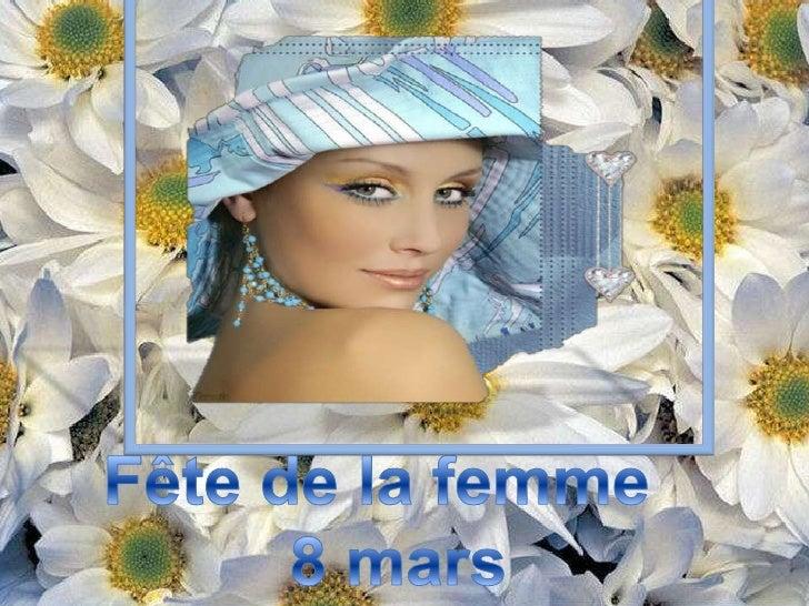 8 Mars Fete De La Femme