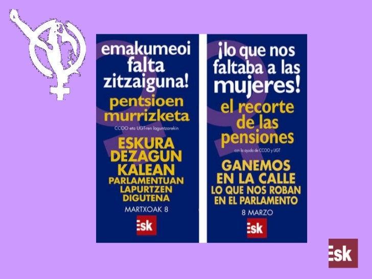 Lo que nos faltaba a las mujeres, la reforma de las pensiones