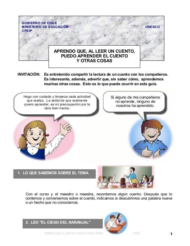 Si alguno de mis compañeros no aprende, ninguno de nosotros ha aprendido. GOBIERNO DE CHILE MINISTERIO DE EDUCACIÓN UNESCO...