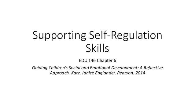 emotional regulation skills for children pdf