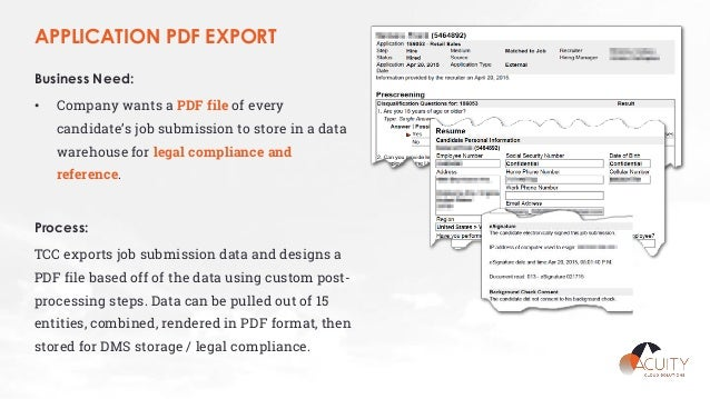 oracle outside in pdf export