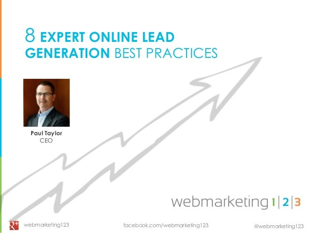 8 Expert Lead Gen Tips for CMOs - slides