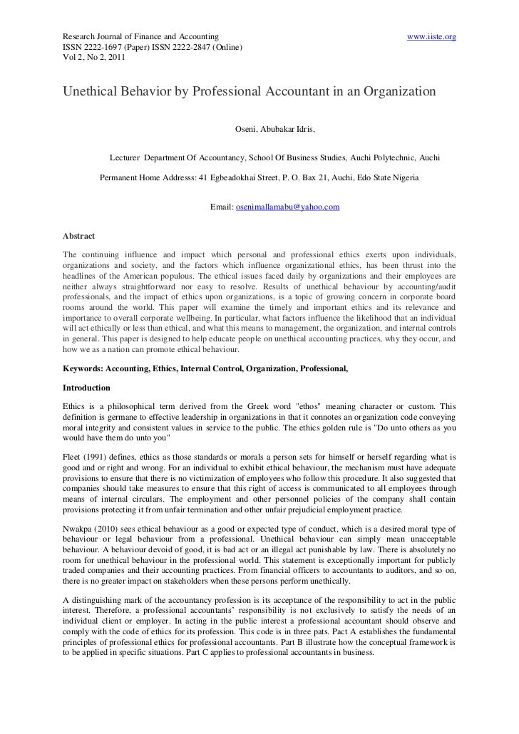 Research Journal of Finance and Accounting                                                          www.iiste.orgISSN 2222...