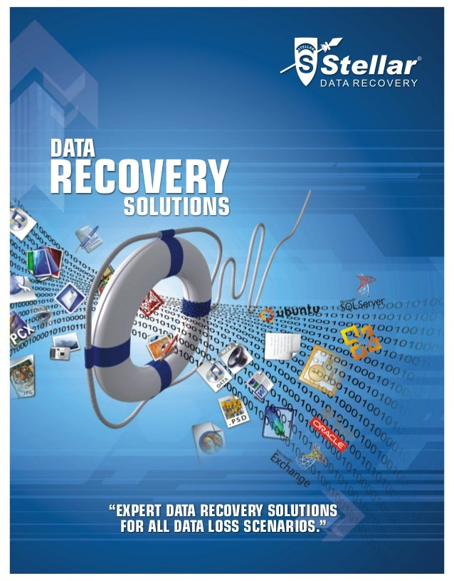 What & How Stellar Data Recovery Does it!