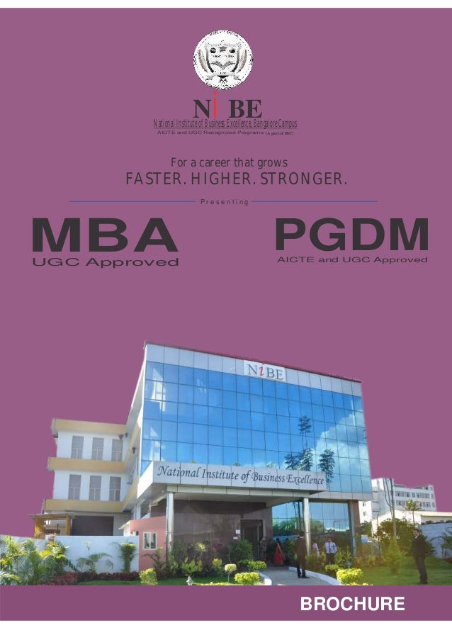 Mba college in bangalore - NIBE